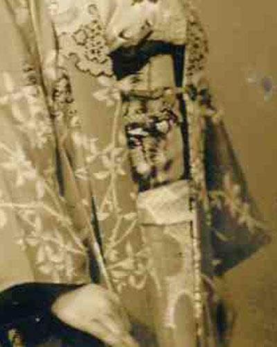 Vintage Japanese Photo Nihongami Old Japan Hair Style Japan TokaidoSoftypapa