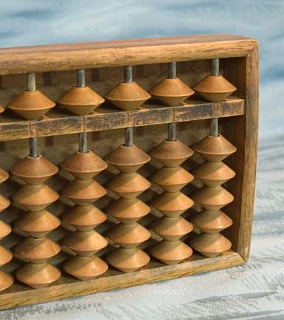 Antique Japan Abacus Soroban Wooden Calculating Tool Japanese TokaidoSoftypapa
