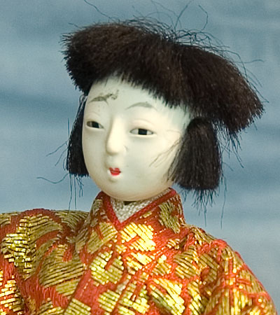 Doll Ningyo Kimono Obi Display Figure Figurine Japan Japanese Nippon Nihon Tokaido Softypapa